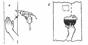 Замена крепежа листов гипсокартона